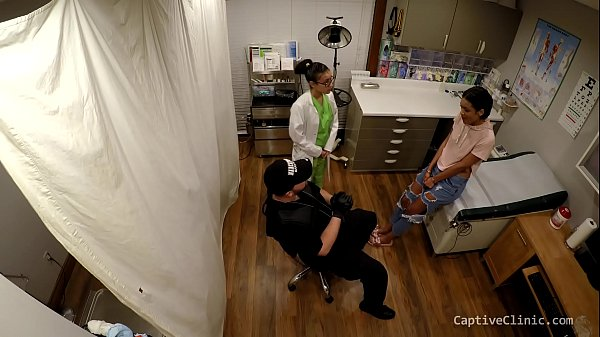Chicago Police Department Caught Interrogating Prisoners At Black Site Interrogation Center - Secret Interrogation Centers Jackie Banes Clip 1 of 5 CaptiveClinic.com unique medical fetish movies