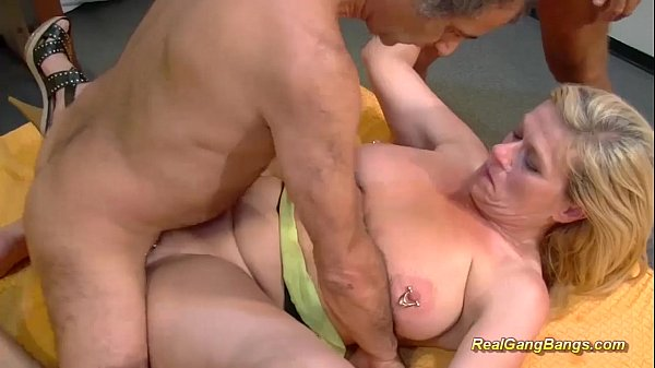 extreme pierced stepmom real gang banged