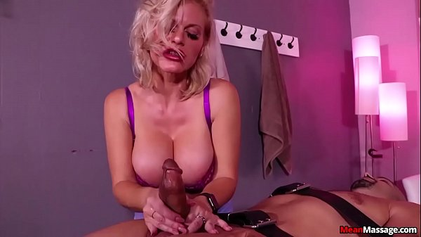 MILF Caska Ruined Orgasm Handjob