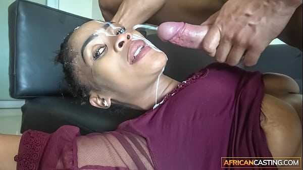 Sloppy Head from Ebony Deep Throat Queen Thumb