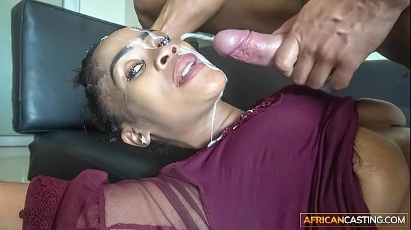 Sloppy Head from Ebony Deep Throat Queen