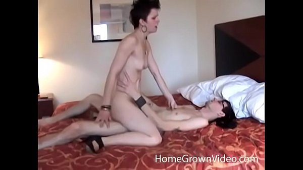 Skinny slut calls out of work just to get fucked