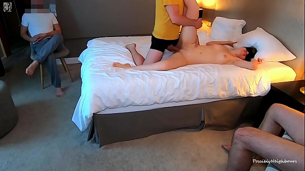 Creampied by 3 Men in a Row - Make Me Pregnant! Thumb
