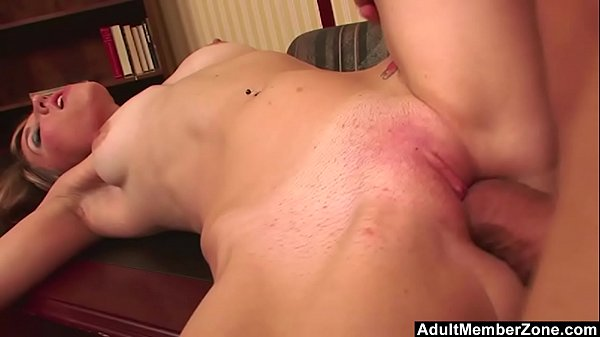 AdultMemberZone - Huge dick makes Hailey Davidson screams with pleasure and pain