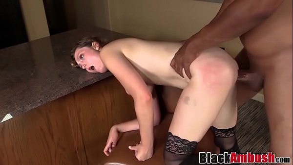 Babe Nikki toys pussy before 1st interracial cr...