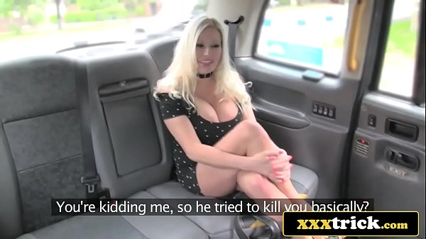 Lucky Cab Driver Fucks Big Tits Bimbo Michelle Thorne Thumb