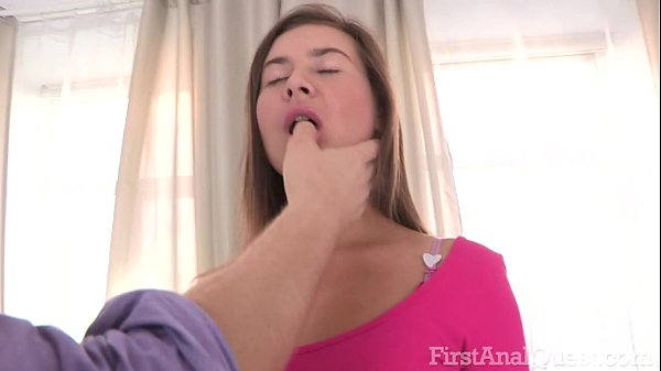 FIRSTANALQUEST.COM - BRUNETTE ANAL WITH TOY PLAY AND BIG COCK DOGGYSTYLE SEX Thumb