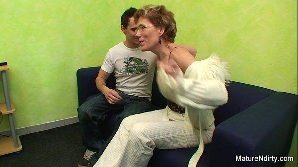 Granny fucked by a y. guy