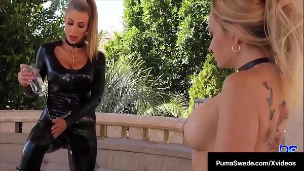 Dom Smoker Puma Swede Pussy Fucks Horny Sex Slave Claudia Valentine