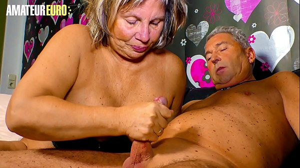 AMATEUR EURO - German Granny Karin A. Sucks And Fucks With Hubby Like A Pro Thumb
