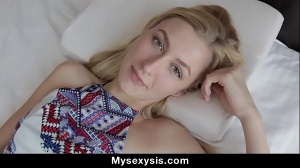 Blonde Teen Takes Pov Nailing And Facial From S...