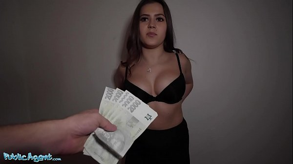 Public Agent Celeb lookalike Sereyna Gomez fuck...