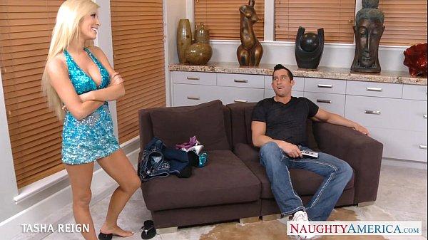 GOrgeous Tasha Reign gives oral sex