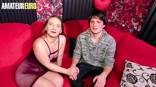 AMATEUR EURO - #Lilly Ladina - Shy Guy Tries Hi...