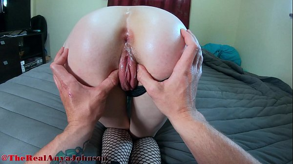 hot high school girl tries ANAL for first time and INSTANT CUM @therealanyajohnson / Andy Savage