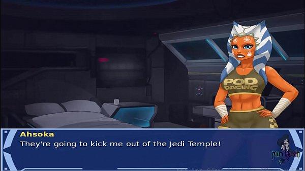 Star Wars Orange Trainer Part 26 cosplay bang h...