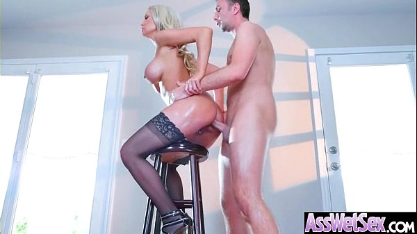 Big Wet Ass Girl (Kenzie Taylor) Get Oiled And Hard Style Analy Banged clip-19