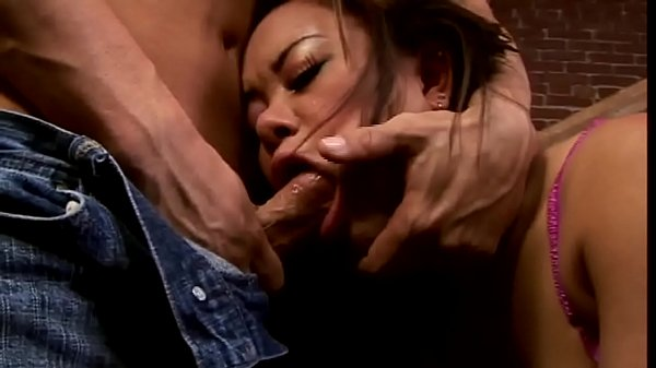 A lot of hard anal action and whore sucks cock
