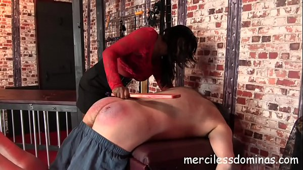 Do You Submit? - Mistress Bounty spanked her slave