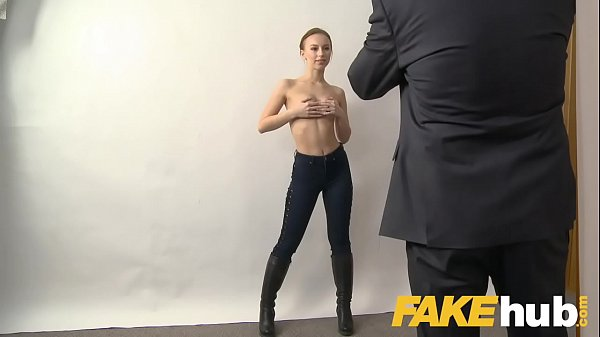 Fake Agent Big facial for sweet Russian model with perfect ass and pussy