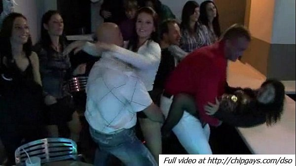 Hardcore anal action in disco club