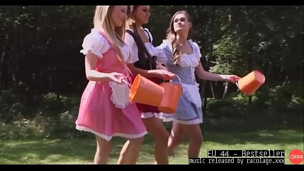 Milking Men Sperm Handjob Outdoors With Music B...