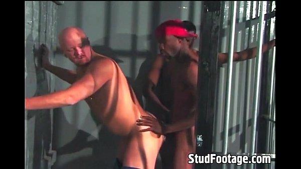 Gay interracial prison sex