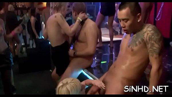 Cougar sex party