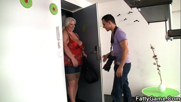 Busty BBW is doggystyled after photosession Thumb