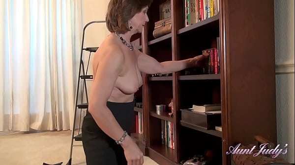 AuntJudys - Cleaning day with 60yr-old Texas GILF Marie Thumb
