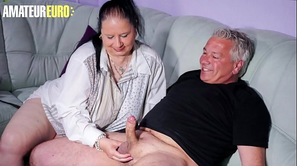 AMATEUR EURO - Cheating BBW Wife Abby Titts See...