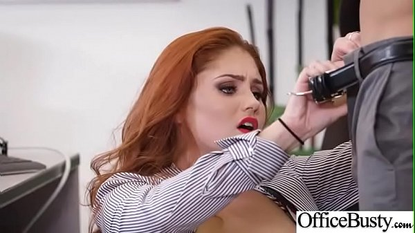 Busty Office Girl (Lennox Luxe) Get Hardcore Banged vid-22