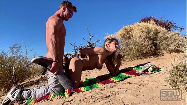 hot couple fuck in the sand dunes