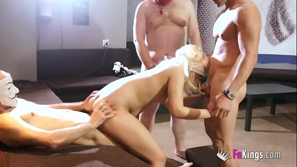 SASHA fulfills her fantasy by bareback fucking ...