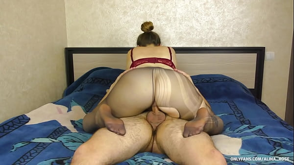 Teen Big Ass Pantyhose Ride Coke - Cum ass