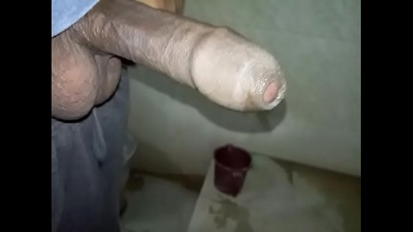 Young indian boy masturbation cum after pissing in toilet