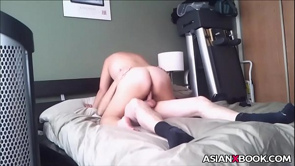 big booty asian rides dick