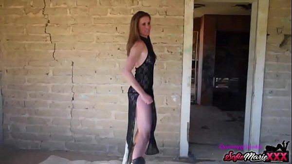 SofieMarieXXX - Tight MILF Fucks Monster Cock A...