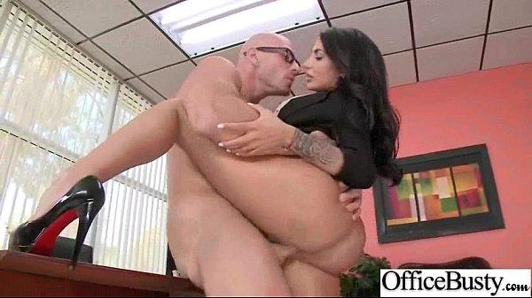 Hardcore Sex With Horny Big Tits Office Sluty G...