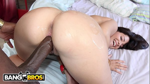 BANGBROS - Petite British PAWG Gets Rico Strong's Big Black Dick Shoved Inside Of Her