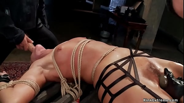Milf in back arch bondage trained