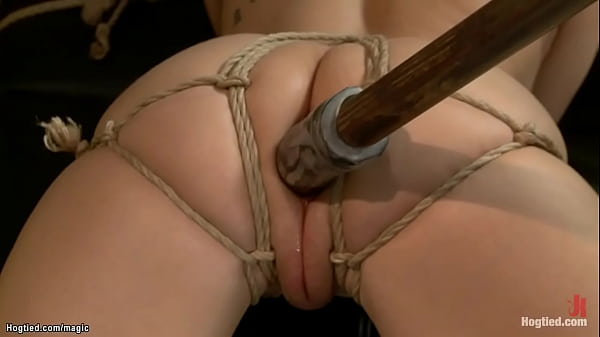 Bound slut anal fucked in doggy Thumb