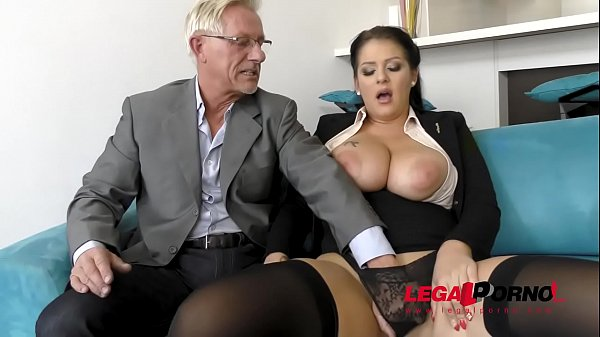 Tattooed and curvy Anissa Jolie gets her big ass fucked by old dude GP142 Thumb