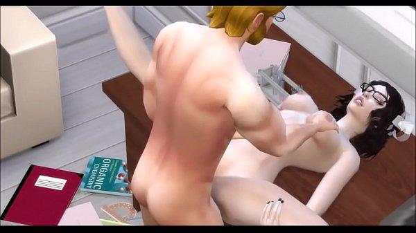 Chemistry teacher fucked his nice pupil. Sims 4 Porn