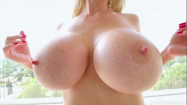 Jules Jordan - Casca Akashova Massive Tits Causes An Eruption