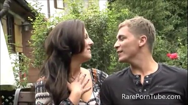 German Mom Outdoor Sex Thumb
