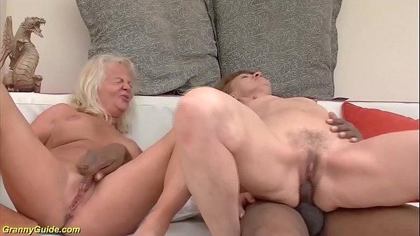 big cock anal interracial for two grannies Thumb