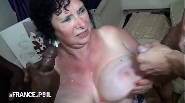 Amateur french granny fuck
