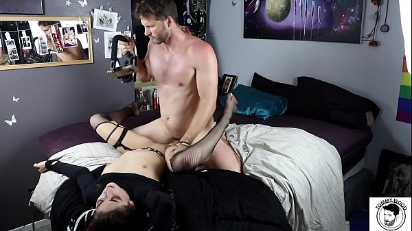 Nikki Knightly getting fucked in her hippie ro...
