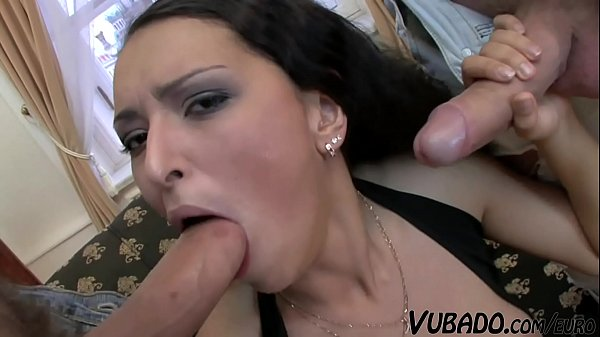 Step Daughter Getting Her Ass Fucked By Two Cocks